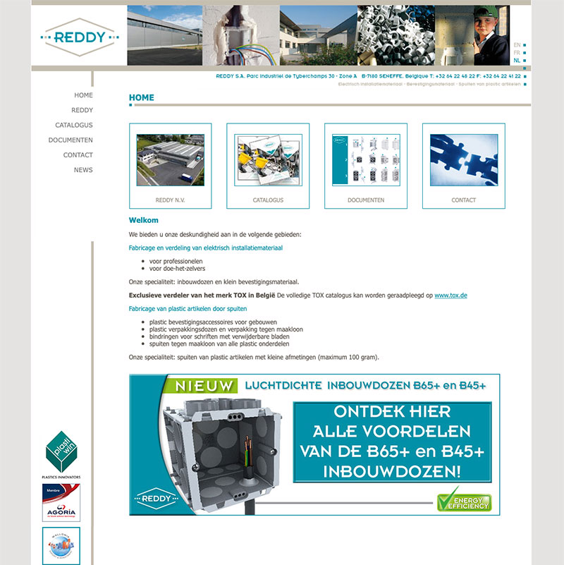 website productcatalogus